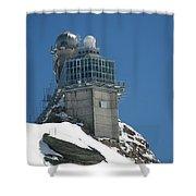 The Spinx Jungfraujoch Shower Curtain