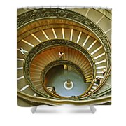 The Spiral Staircase Shower Curtain
