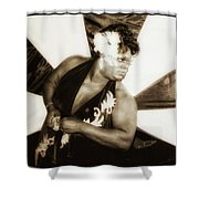 The Spirit Club. Another Tenderloin Shower Curtain