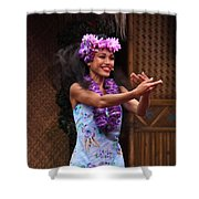 The Spirit Of Aloha Shower Curtain