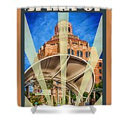 The Spirit Of Asheville Shower Curtain