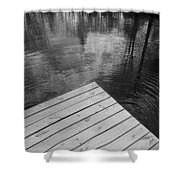 The Spirits Of Kripplebush Pond Shower Curtain