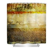 The Spirit Trees Shower Curtain
