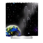 The Spiritual  Journey  Shower Curtain