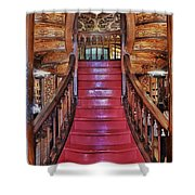 The Splendor Of Stairs Shower Curtain