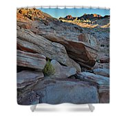 The Spotlight Fades At Valley Of Fire Shower Curtain