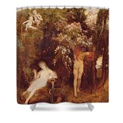 The Spring Of Love Shower Curtain