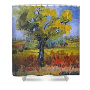 The Spring Tree Shower Curtain