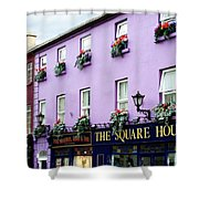 The Square House  Athlone Ireland Shower Curtain