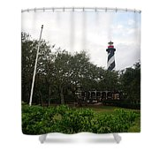 The St. Augustine Light Station Shower Curtain