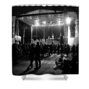 The Stage Shower Curtain