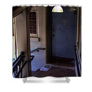 The Stairwell Shower Curtain