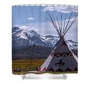 The Stanley Tipy Shower Curtain
