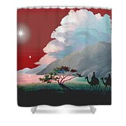 The Star Of Bethlehem Shower Curtain