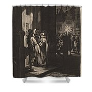 The Star Of Kings, A Night Piece Shower Curtain