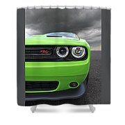 The Stare - Challenger Rt Shower Curtain