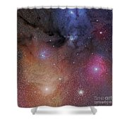 The Starforming Region Of Rho Ophiuchus Shower Curtain