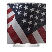 The Stars And Stripes Shower Curtain by Jerry McElroy