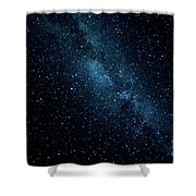 The Stars At Tuttle Creek, Lone Pine, Ca, Usa, September, 2016 Shower Curtain