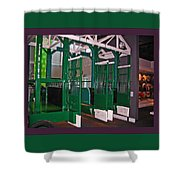 The Starting Gate Display In The Kentucky Derby Museum Shower Curtain