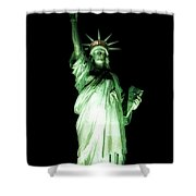 The Statue Of Liberty #2 Shower Curtain