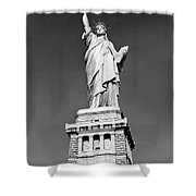 The Statue Of Liberty  Photo Shower Curtain