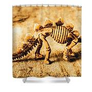 The Stegosaurus Art In Form Shower Curtain
