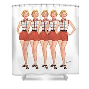 The Stepford Wives Shower Curtain