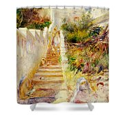 The Steps In Algiers Shower Curtain