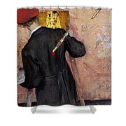 The Still-life Painter Shower Curtain