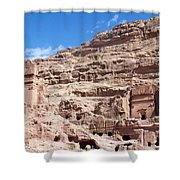 The Stone City Shower Curtain