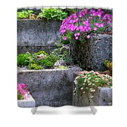 The Stone Planters Shower Curtain