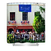 The Stonewall Inn National Monument Shower Curtain