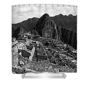 The Stonework Of Machu Picchu Shower Curtain