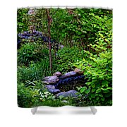The Stony Pond Shower Curtain