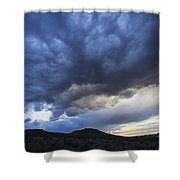 The Storm Above Shower Curtain