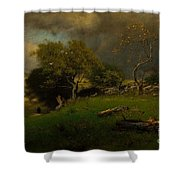 The Storm, George Inness Shower Curtain