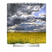 The Storms Approach  Shower Curtain