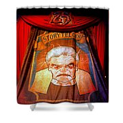 The Storyteller Hhn 25 Shower Curtain