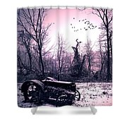 The Straggler...thurston Hollow Pa. Shower Curtain