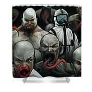 The Strain Shower Curtain