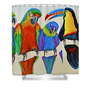 The Stranger Shower Curtain