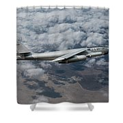 The Stratojet  Shower Curtain