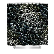 The Stream Bed Shower Curtain