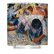 The Street Pavers Shower Curtain
