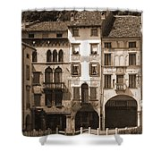 The Streets Of Vittorio Veneto Shower Curtain