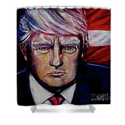 The Strength Of President Donald J Trump Shower Curtain