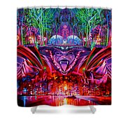 The String Cheese Incident-hulaween Shower Curtain