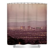 The Strip. 1 Of 4 Shower Curtain