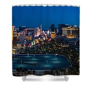 The Strip Las Vegas Shower Curtain